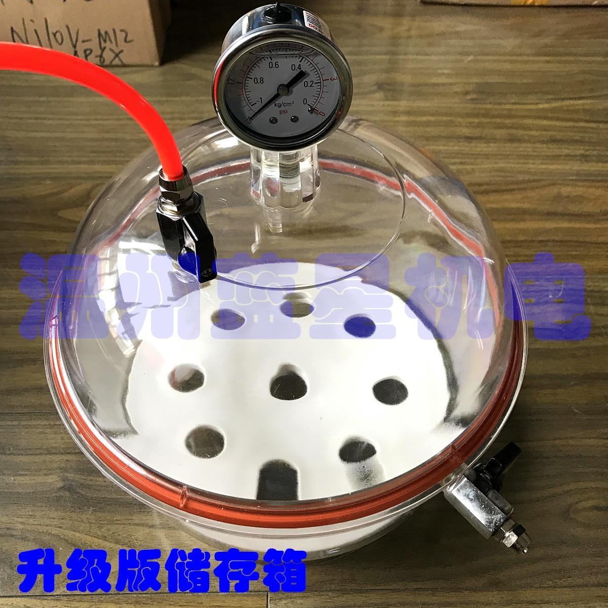 Tanque de armazenamento a vácuo tanque de armazenamento de vácuo vácuo secador de vácuo secagem prato armazenamento ZK277-315 PC-3 + vácuo bomba i-V120SV