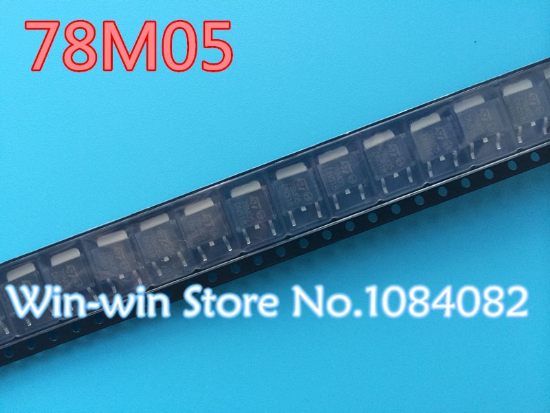 Free Shopping 50pcs/lot New 78M05 L78M05 TO252 7805 750mA