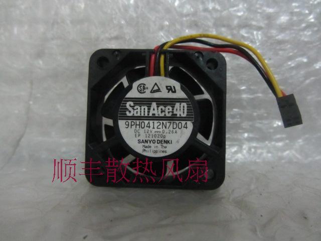 Sanyo sanace40 9ph0412n7d04 12 v 0.26a 4 cm 4015 ventilador