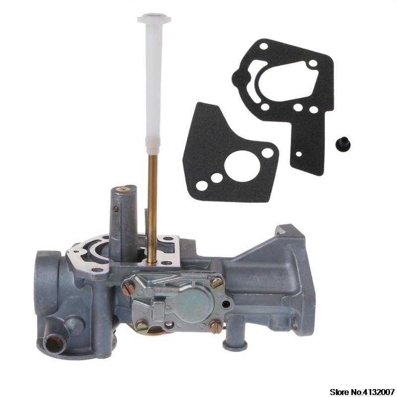 Резиновая вилка 1 шт. Карбюратор Carb w прокладки подходят Briggs & Stratton 498298 495426 5HP ДВИГАТЕЛИ