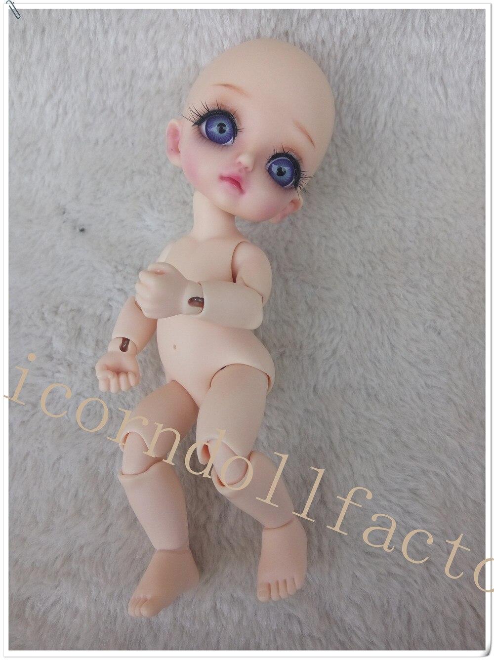 1/8BJD muñeca elfo y elfo humano ojo libre para elegir color de ojos