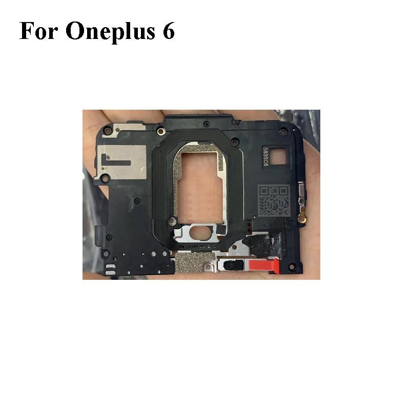 Para OnePlus 6 OnePlus6 Original marco trasero carcasa cubierta en la placa base y antena WIFI One Plus 6 Six 2018 A6000 A6003