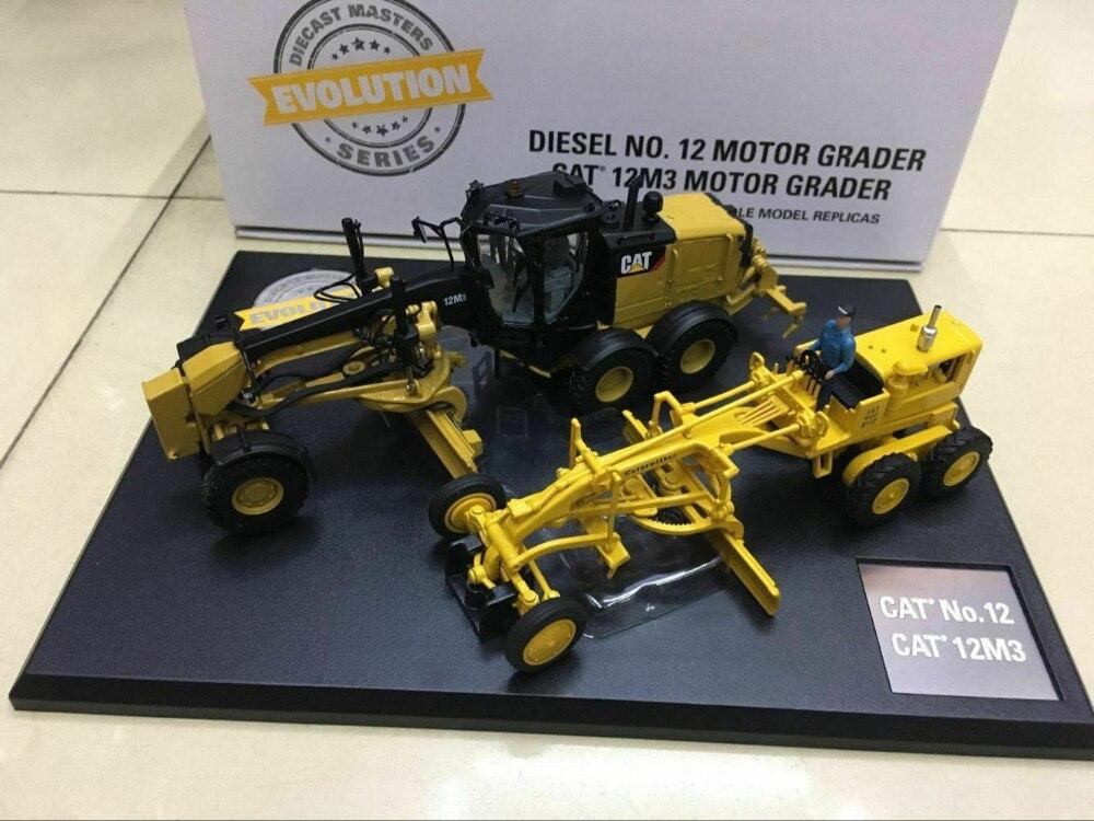 KATZE RAUPE NO. 12 & 12M3 MOTOR GRADER 2 PC SET 1/50 DURCH DIECAST MEISTER 85560