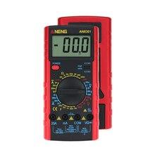 AN8301 Draagbare Digitale Multimeter AC/DC Spanning Weerstand Capaciteit Voltmeter Ampèremeter Multi Elektrische Transistor Test