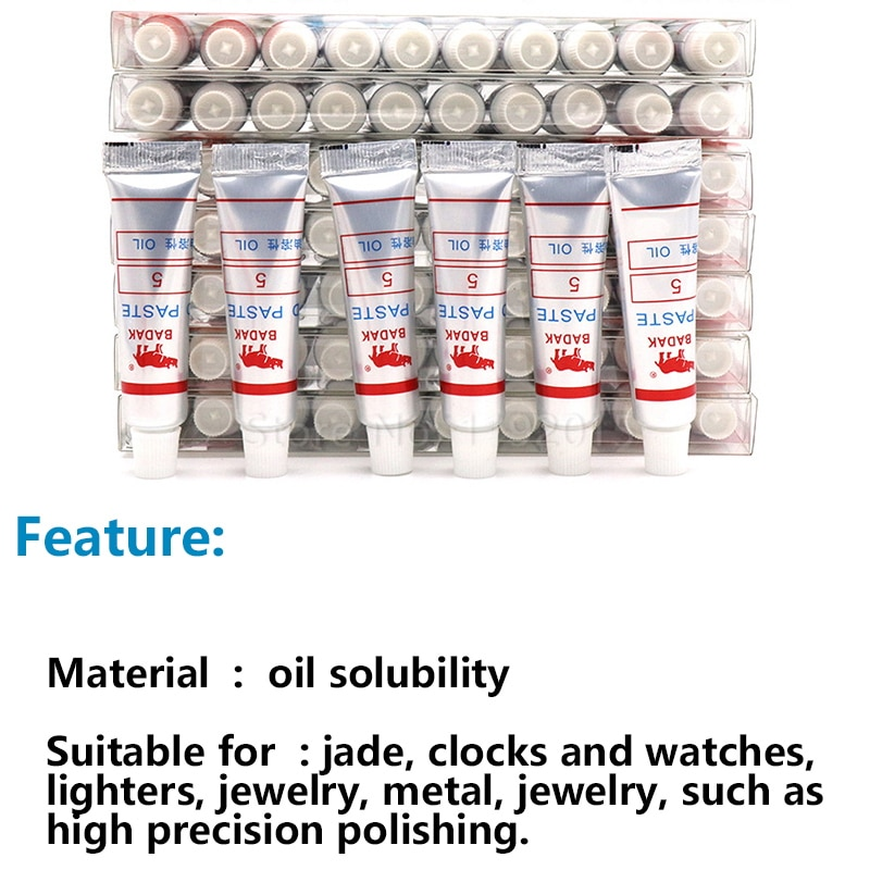 1 pz grana 320-10000 w0.5-w40 pasta abrasiva diamantata tubo ago, - Abrasivi - Fotografia 3