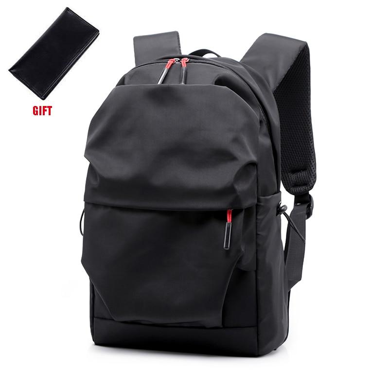 حقيبة ظهر رجالية مقاومة للماء ، حقيبة ظهر للكمبيوتر المحمول مقاس 15.0 بوصة ، سعة كبيرة ، حقيبة ذات ثنيات غير رسمية ، 2019
