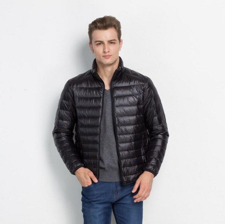 ZOEQO Hot Stylish Winter Ultralight Jacket Autumn & Winter Jacket Men Lightweight duck  Jacket Men Overcoats