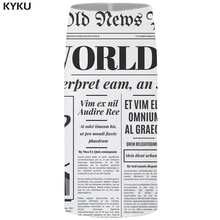 Kyku 브랜드 신문 스커트 여성 단어 섹시한 흰색 파티 레트로 3d 인쇄 꽃 연필 숙녀 스커트 여성 재미 있은 한국어