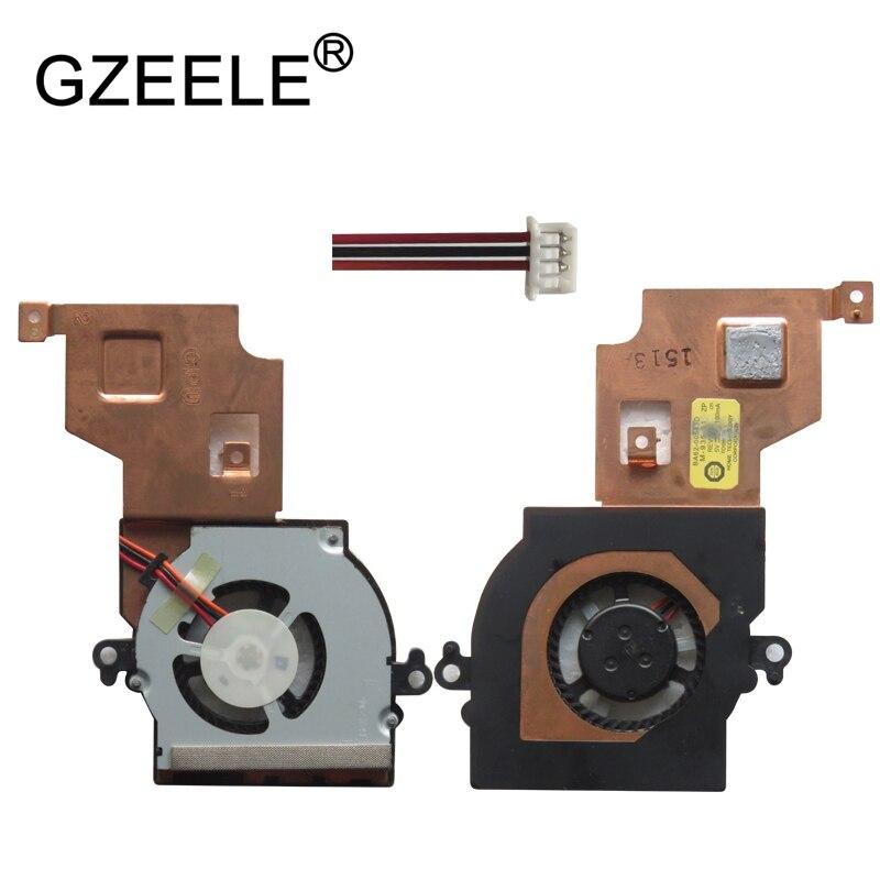 GZEELE New CPU Ventilador de Refrigeração Para SAMSUNG N143 N145 N150 N148P N210 N220 N100 N102 NB20 NB30P laptop notebook 3Pin Cooler substituir