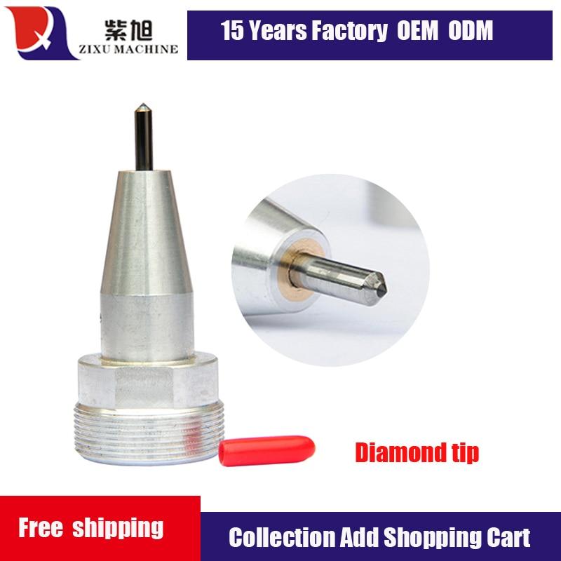 Пневматические алмазные наконечники CNC запасные части для машины для маркировки металла и бесплатная доставка