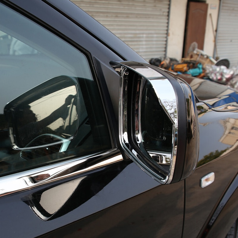 Para Dodge viaje JC/Fiat freemonte 2009-2019 cromo espejo retrovisor Protector de lluvia