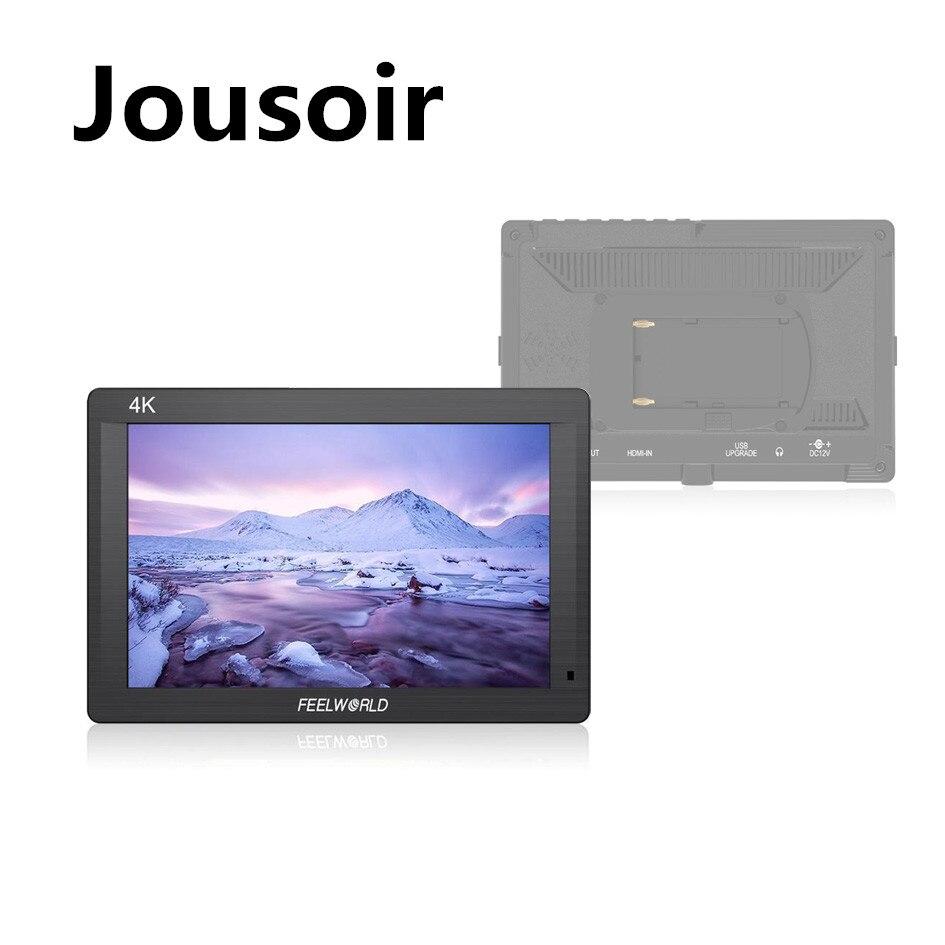 "FH7 7 ""IPS 4K 1920x1200 Cámara Full HD Monitor de campo con HDMI 4K UHD de entrada-salida pico Enfoque de Audio CD15"