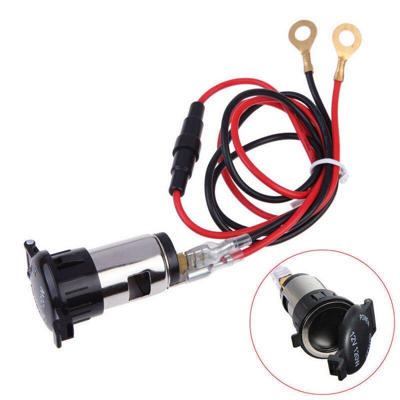 Сменная розетка для прикуривателя для питания 12 В трактора 10А 120 Вт 2,5 см автомобиля 1 шт. вилка с проводом GPS