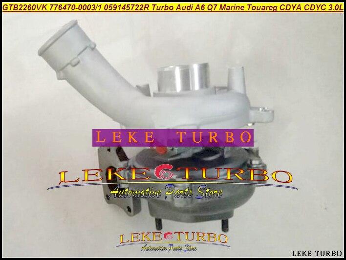Turbo 776470 Turbo 776470-5003S 776470-5001 a 059145722M 769909-0010, 769909-10 para Volkswagen Marina Touareg Phaeton CASA CEZA SASB 3.0L