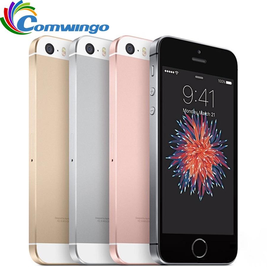 Original Unlocked Apple iPhone SE Cell Phone RAM 2GB ROM 16/64GB Dual-core A9 4.0