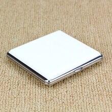 الصلبة الأبيض علبة السجائر صندوق جلد ل 20 السجائر فتح إغلاق التدخين كيس التبغ الحقيبة حقيبة السجائر TP-300A