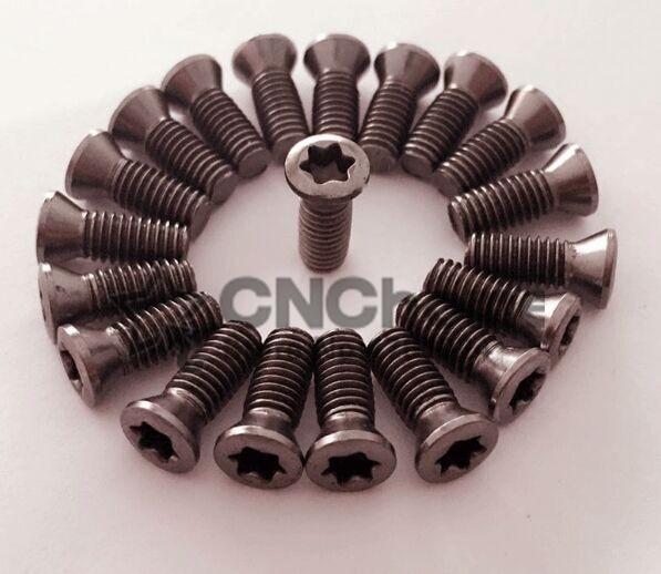 50 pçs/lote M2 * 6 M2.5 * 6 M2.5 * 8 M3 * 8 M3 * 10 M3 * 12 M3.5 * 8 M3.5 * 10 M3.5 * 12 M4 * 10 M4 * 12 M5 * 10 torno CNC parafusos de reposição da ferramenta torx