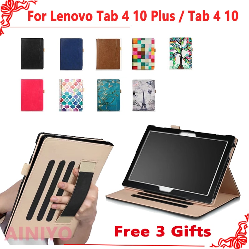 Coque pour Lenovo TAB4 Tab 4 10 to-X304L TB-X304F/N housse intelligente pour Lenovo Tab 4 10plus TB-X704F/N coque de support de tablette Funda
