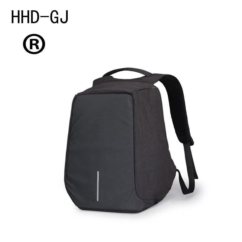 Mochila para ordenador portátil antirrobo de HHD-GJ, 15,6 pulgadas, 14 pulgadas, 13 pulgadas, 17 pulgadas, para hombre y mujer, mochila de viaje para mujer