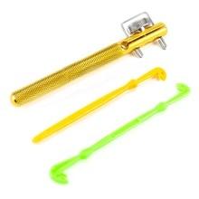 Fishing Hook Knotting Tool Tie Hook Loop Making Device Hooks Decoupling remover Carp Fly Line Tier Kit Fishing Detacher Device
