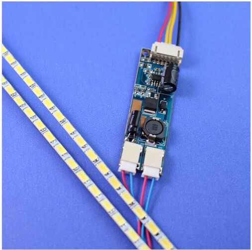 NEW 490mm LED Backlight Strip Light Kit DC 10-30V 22 Inch CCFL LCD Screen To LED Monitor Module