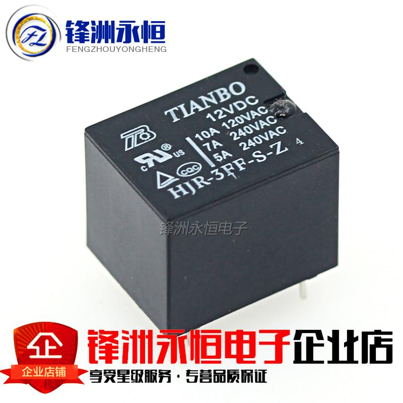 HJR-3FF-S-Z 12V CC 12V 10A T73, componentes de relé