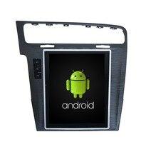 Navirider Android 7.1 radio tape recorder 4-Core 2GB RAM 32GB rom tesla vertical screen for  golf7 Golf 7 auto head units