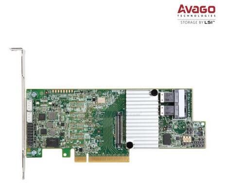 RaidStorage Intel controlador RAID RS3DC080 SFF8643 1 GB cache LSISAS3108 HD Mini-SAS RAID0.1.5.6 PCI-E3.0 x8 12 Gb/s tarjeta