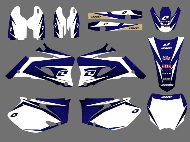 Gráficos y fondos adhesivos pegatinas Kits para Yamaha YZ250F YZ450F 2006, 2007, 2008, 2009 YZ 250F 450F YZ250 YZ450 F