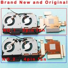 GPU Radiateur ventilateur radiateur POUR CLEVO P950HR P950HP 6-31-P9502-401 6-31-P9552-102 6-31-P9552-HA0 BS5005HS-U3E BS5005HS-U3D