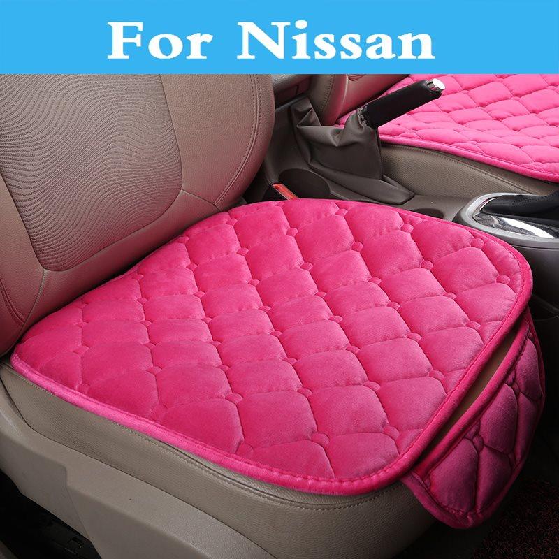 1 cojín para asiento de coche, funda para silla de coche, masaje para Nissan 350Z 370Z AD Almera Classic Altima Armada Avenir Juke Nismo