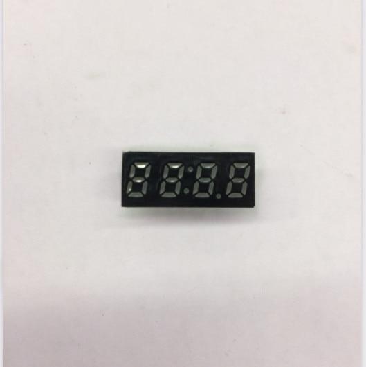 0,25 pulgadas 4 dígitos reloj rojo 7 segmentos pantalla led 2453AS/2453BS