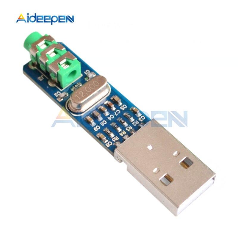 Mini 5V PCM2704 USB Poder HIFI DAC USB Placa de Som USB DAC Decoder Board Módulo Para Arduino Raspberry Pi 16 Bits