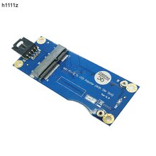 Mini PCI-e pci Express Wireless USB Riser SIM Card Slot WWAN LTE Module Adapter Converter Card 9Pin USB Kabel PC Componenten