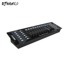 Djworld meilleure qualité norme internationale DMX 192 contrôleur pour éclairage de scène 192 DMX Console DJ contrôleur expédition rapide