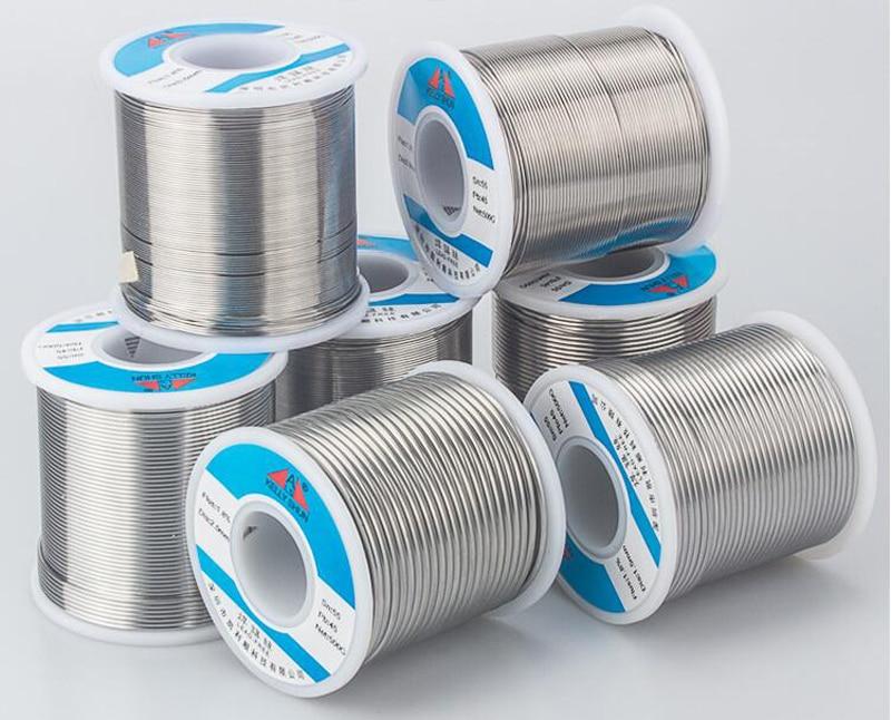 Alta calidad, alta pureza, alambre de soldadura sin limpieza, baja temperatura que contiene flujo de resina 0,8mm 800g DIY soldadura especial