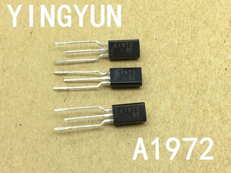 10PCS/LOT  2SA1972 A1972 TO-92 400V500MA High voltage switching transistor