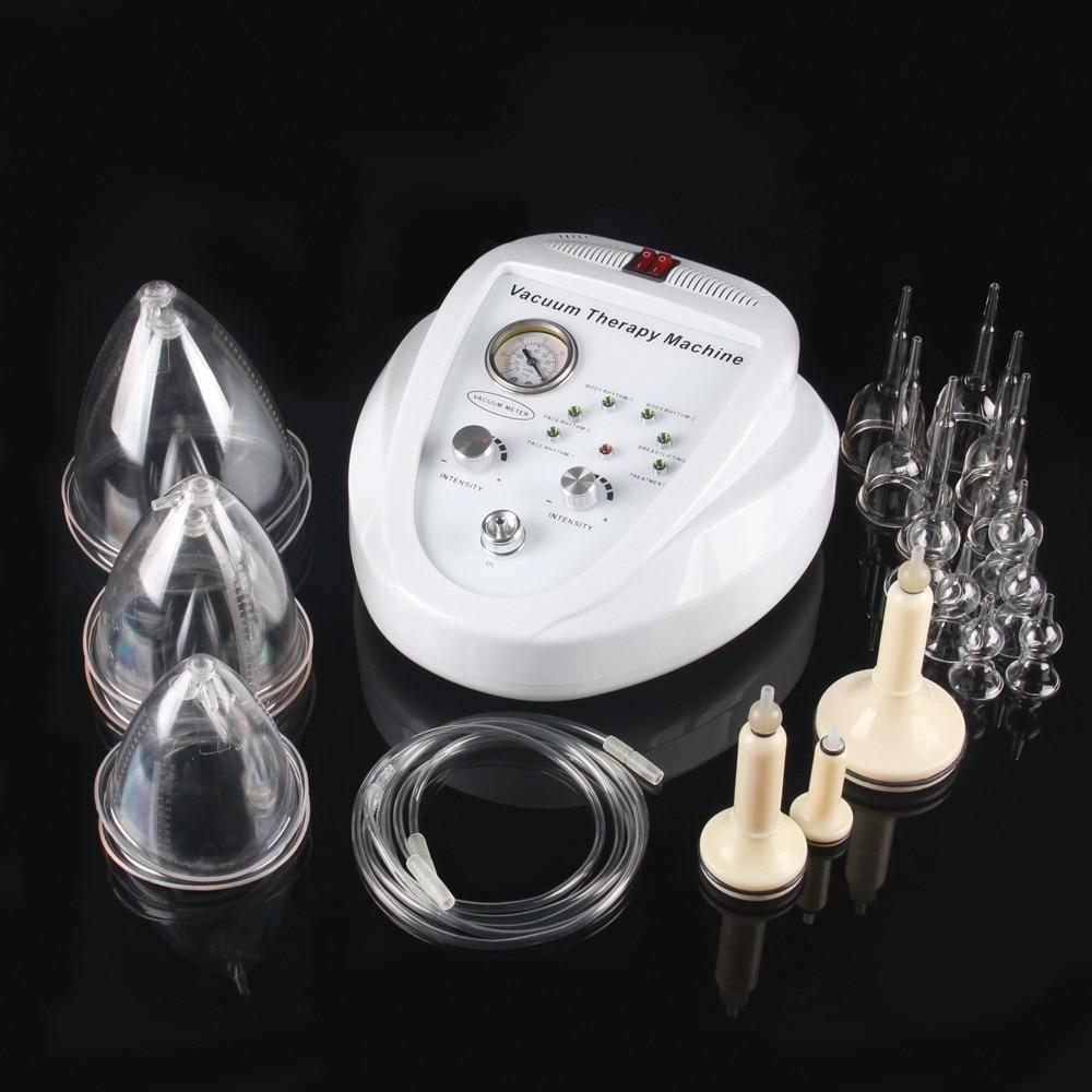 Портативная вакуумная терапевтическая машина для уменьшения жира целлюлита массаж вакуумной обрезки для использования в салонах груди се...