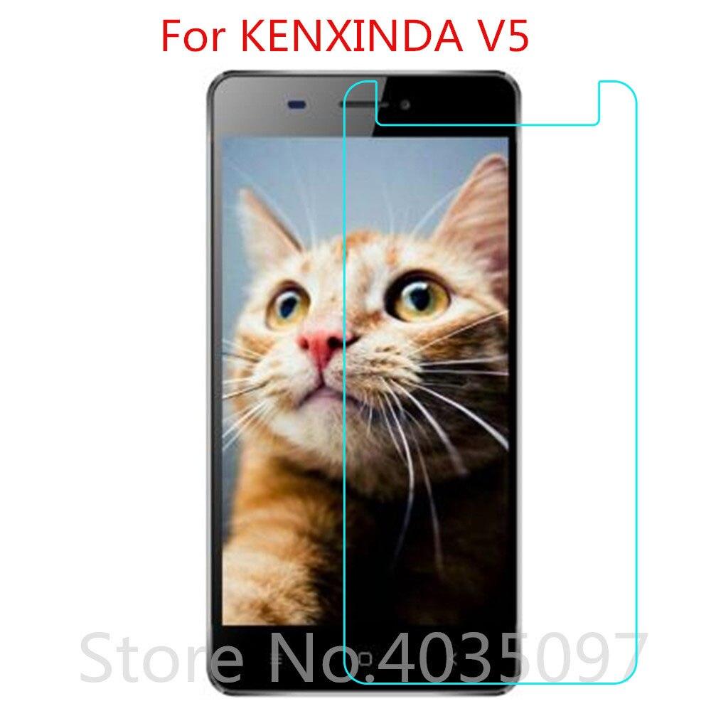 2PCS 2.5D 9H For KENXINDA V5 Tempered Glass Protective Glass Film Explosion-proof For KENXINDA V5 Sc