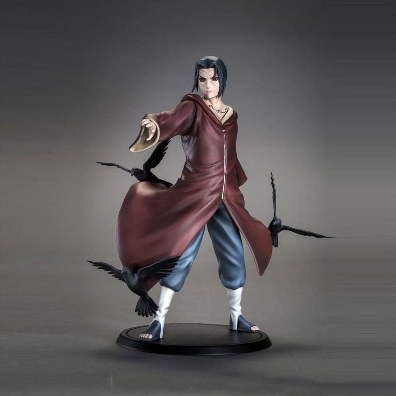 Uchiha Itachi Uzumaki Naruto Shippuden Japan Action Figures Uchiha Sasuke' Brother With Box GEM Ninja Model Dolls Collectible