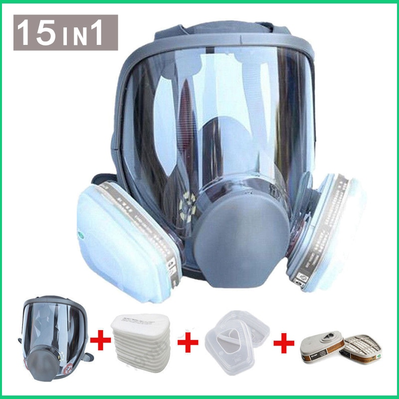Large Size Full Face 6800 Gas Mask Facepiece Respirator Painting Spraying for painting chemical Labo