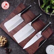 DENGJIA manuel forgeage cuisine couteau costume multi-usages couteau tranchant et Durable viande couperet Chef couteaux tranchage couteau costume