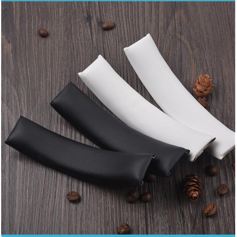 Мягкие накладки для наушников, 1 шт., кожаные накладки из губки для головных уборов, головные уборы для фотостудии 1,0, сменные черные головные...