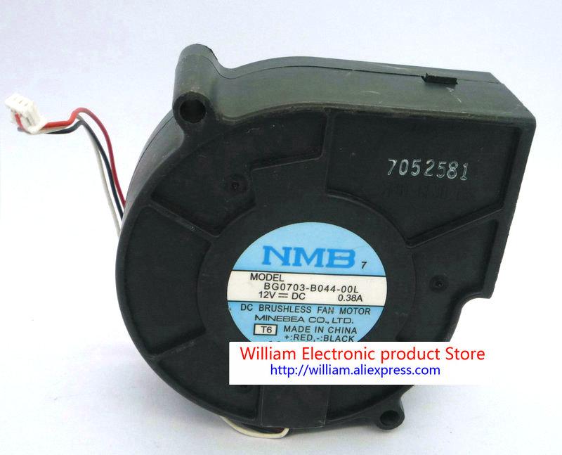 Original NMB BG0703-B044-00L DC12v 0.38a 7cm Blower cooling fan