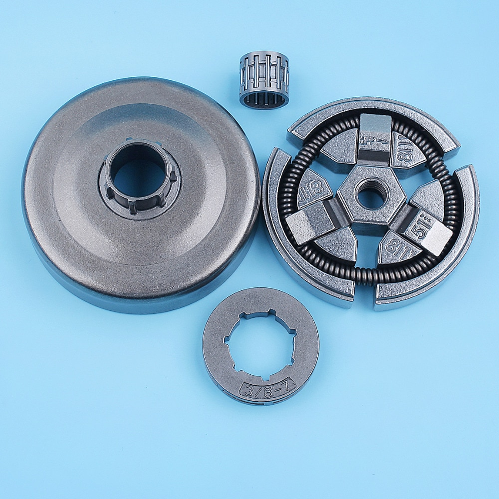 3 8 clutch drum 3/8 Clutch Drum Bell Rim Sprocket Bearing Kit For Husqvarna 262 261 262XP Chainsaw 503577101 503657801 Replacement Parts