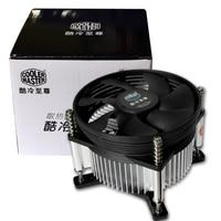 Cooler Master CPU Cooler For Intel 478 775 115X AMD AM2 AM2+ AM3 FM1 Multiplatform CPU Radiator 3pin Cooling CPU Fan PC Quiet