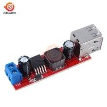 DC 6V-40V à 5V 3A Double DC-DC de Charge USB Module de convertisseur abaisseur pour chargeur de voiture de véhicule LM2596 Double deux USB