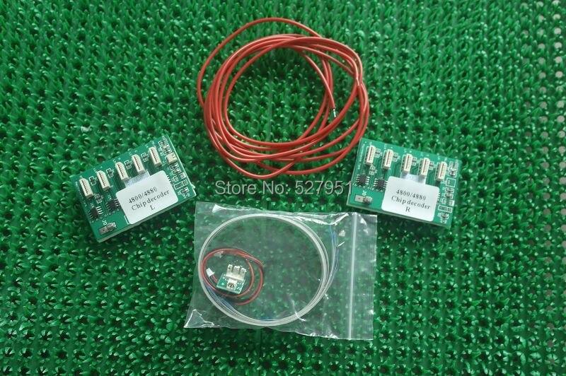 ¡Nuevo Modelo Winnerjet! Tarjeta decodificador de chip para Epson Stylus Pro 4880 7880 9880 decodificador