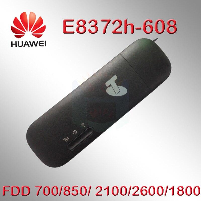 Desbloqueado Huawei E8372 4g router de módem sim E8372h-608 4G Wifi router 3g 4G Wifi 4g wifi tarjeta sim Wi-Fi android dvd del coche w800
