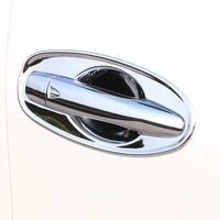 stainless steel bluechrome for x trail xtrail t32 rogue 2014 2018 accessories car door handle bowl cover trim car styling 8pcs